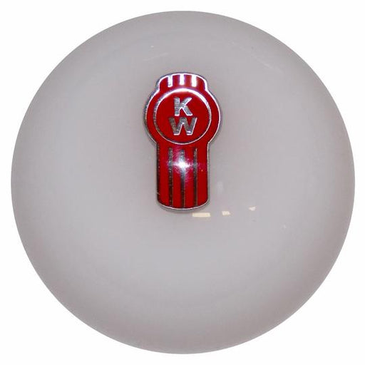 White Kenworth Shift Knob