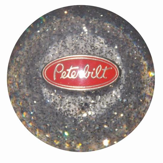 Clear Glitter Peterbilt Shift Knob