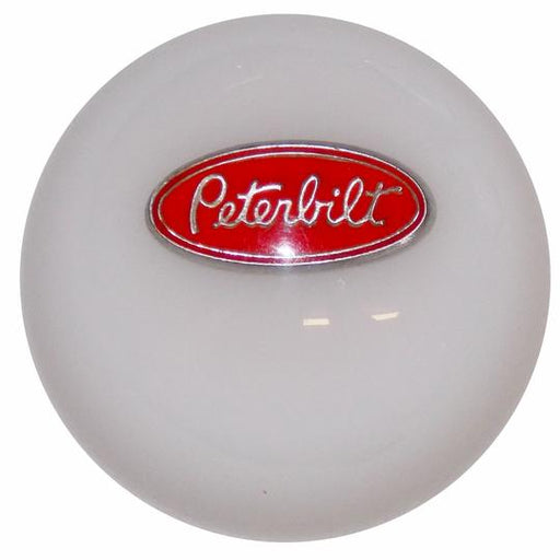 White Peterbilt Shift Knob