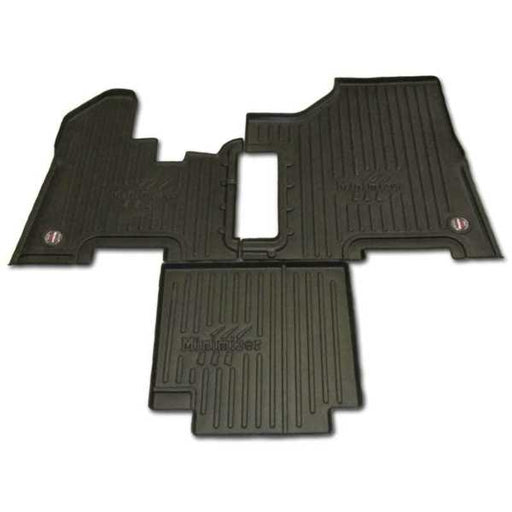 Peterbilt Black Floor Mats for 357, 377, 378, 379, 385 (MANUAL TRANS)