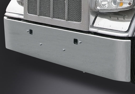 "18"" Peterbilt Texas Rolled End Bumper Tow Holes"
