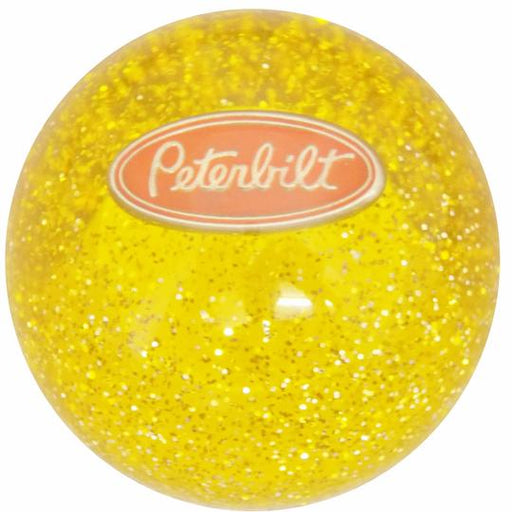 Amber Peterbilt Glitter Shift Knob