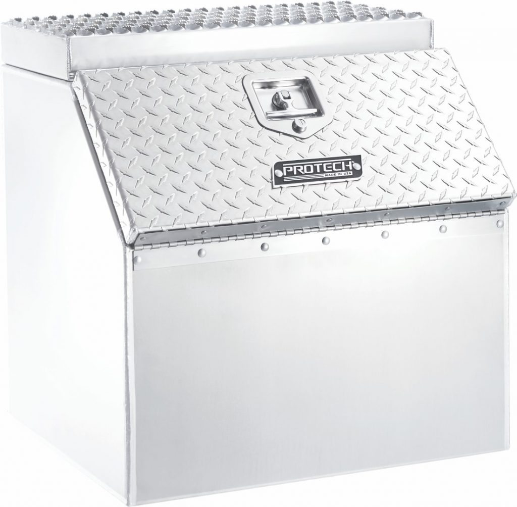 Aluminum Step Box (Top Step Only)