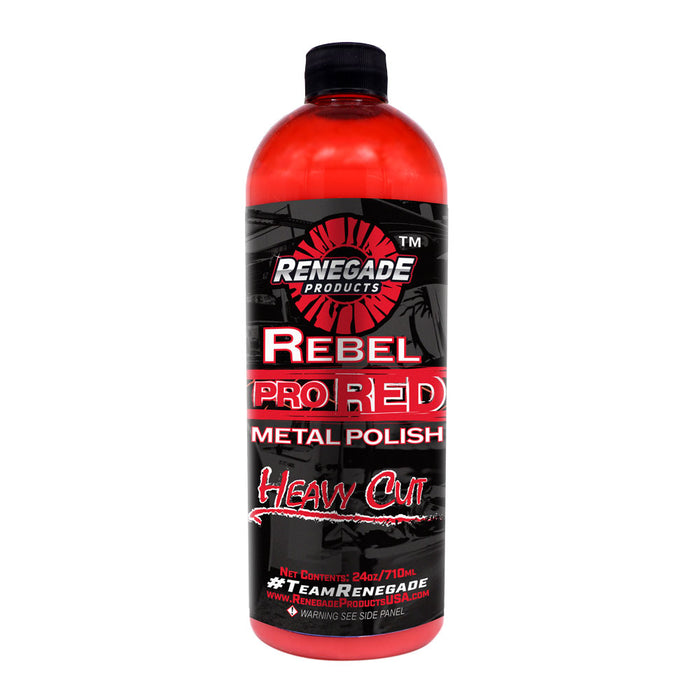 Bells-And-Whistles-Chrome-Shop-Trucks-Aftermarket-Accessories-Polishing-Renegade Products-Rebel Pro Red-Peterbilt-Kenworth-Freightliner-Mack-Volvo-Lonestar
