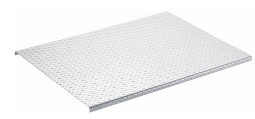 5 Foot ALUMINUM DIAMOND PLATE DECK COVER