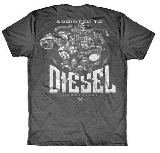Addicted to Diesel Short Sleeve