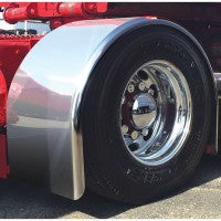 "Trux Accessories 96"" Heavy Duty Super Long Single Axle Fenders"