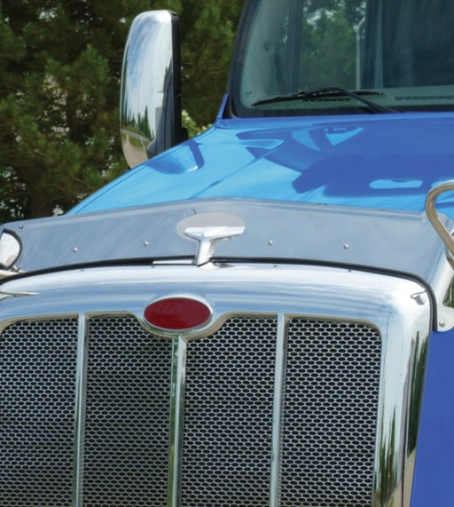 Peterbilt 587 Hoodshield Bug Deflector