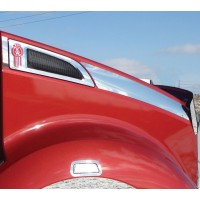 Kenworth T680 Side Hood Trim for Long Hood Models