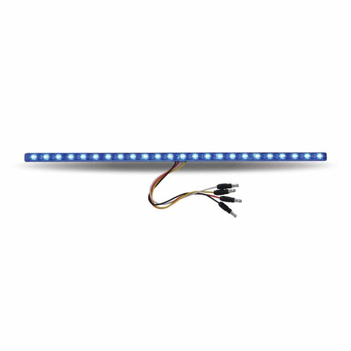 "17"" Dual Revolution Amber Marker to Blue Auxiliary LED Undermount Srip"