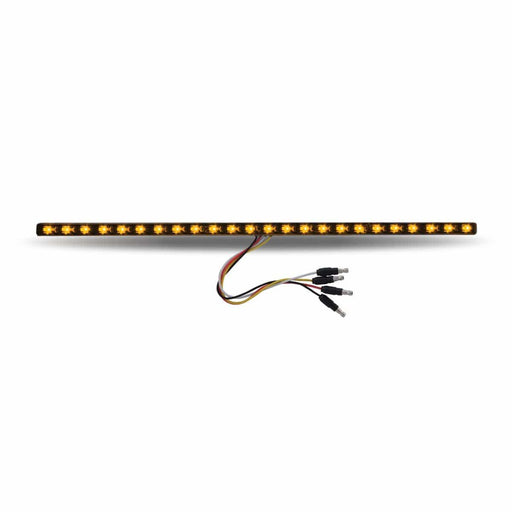"17"" Dual Revolution Amber Marker to Green Auxiliary LED Undermount Strip"