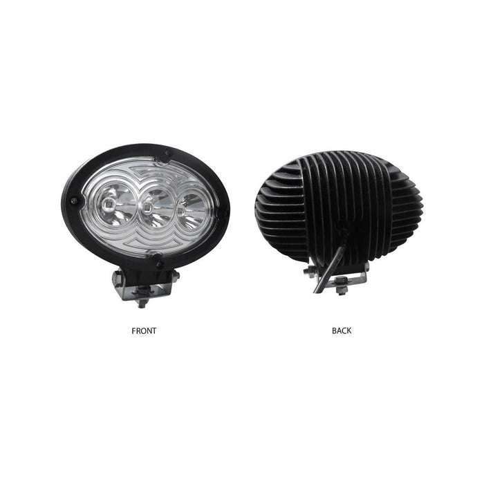 "6"" Universal Oval LED Spot Work Lamp"
