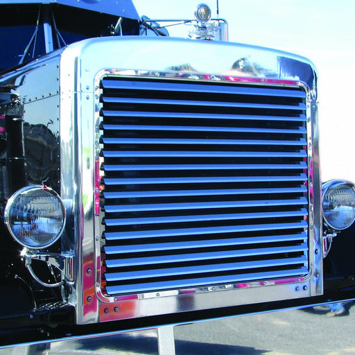 Peterbilt 379 Extended Hood Louvered Grill (16 Bars)