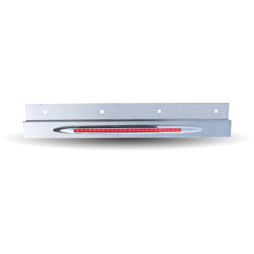 Top Flap Light Bar with Clear Red Stop, Turn & Tail LED Flatline Light