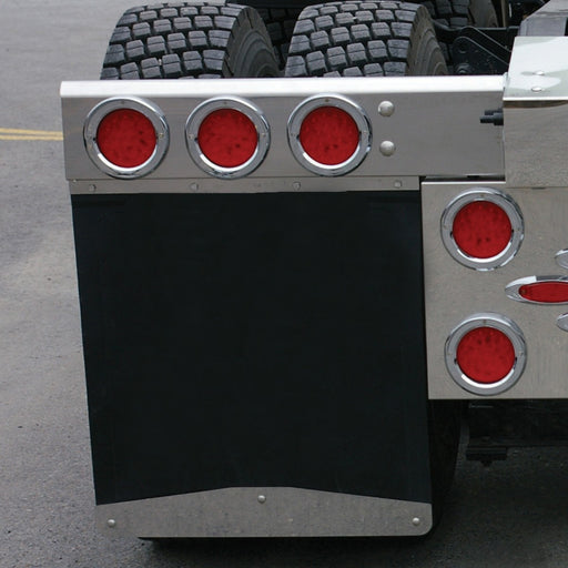 "Mud Flap Weight with 24"" Bolted Angled Bottom"