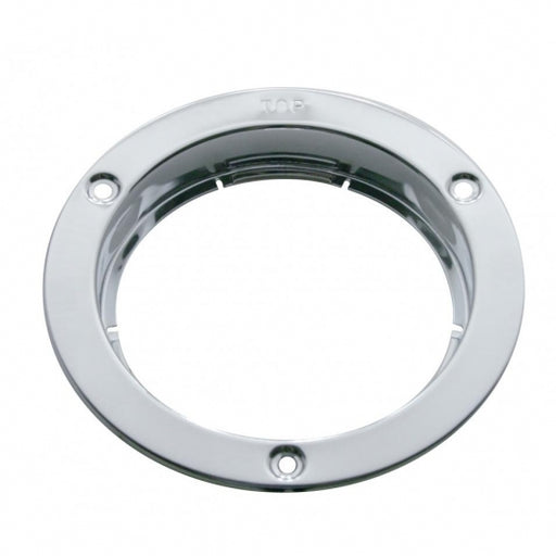 "United Pacific 4"" Stainless Mounting Bezel"