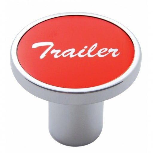 """Trailer"" Air Valve Knob - Red Aluminum Sticker"