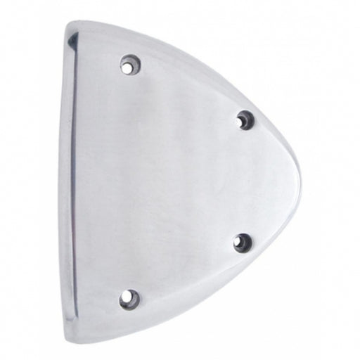 Polished Aluminum Headlight Turn Signal Cover Kit For Peterbilt
