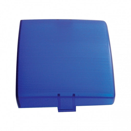 "3"" X 3"" Square Dome Light Lens - Blue"