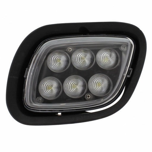 "2008 - 2017 Freightliner Cascadia ""Competition Series"" 6 LED Projection Auxiliary Bumper Light"