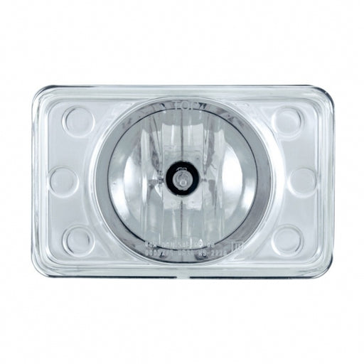 "United Pacific 4"" x 6"" Crystal Projection Headlight - High Beam"