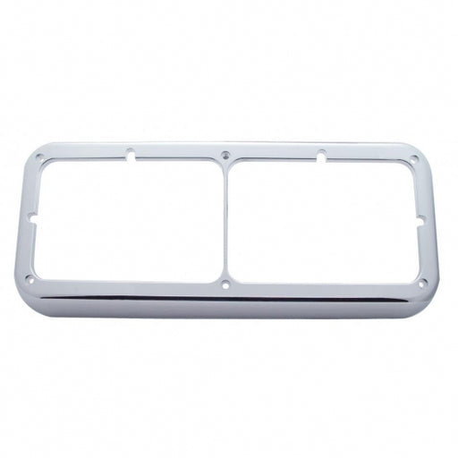 United Pacific Rectangular Dual Headlight Bezel