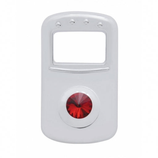 Rocker Switch Cover W/ Red Diamond