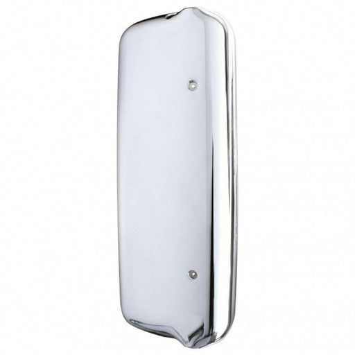 Bells-And-Whistles-Chrome-Shop-Trucks-Aftermarket-Accessories-Exterior-United Pacific-Freightliner Passenger Side Mirror Cover-Peterbilt-Kenworth-Freightliner-Mack-Volvo-Lonestar