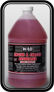 WAB Engine & Chassis Degreaser- Gallon