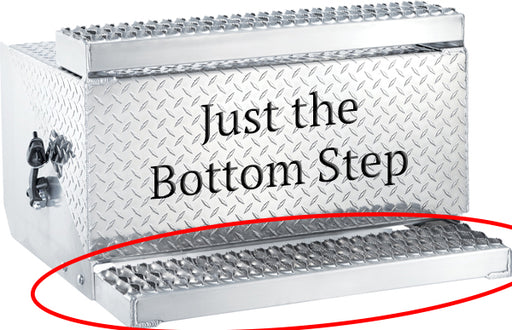 Aluminum Battery Box Bottom Step