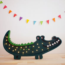 Load image into Gallery viewer, Little Lights Crocodile Lamp