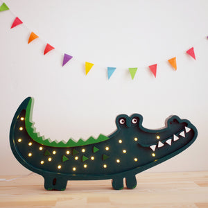 Little Lights Crocodile Lamp