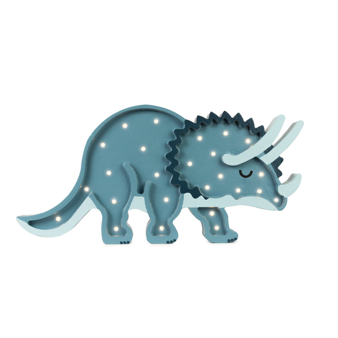 Little Lights Triceratops Dinosaur Lamp
