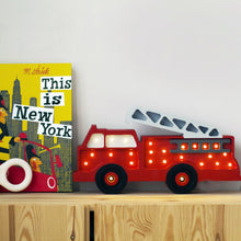 Load image into Gallery viewer, Little Lights Fire Truck Lamp
