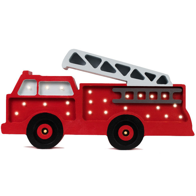 Little Lights Fire Truck Lamp - Little Lights US