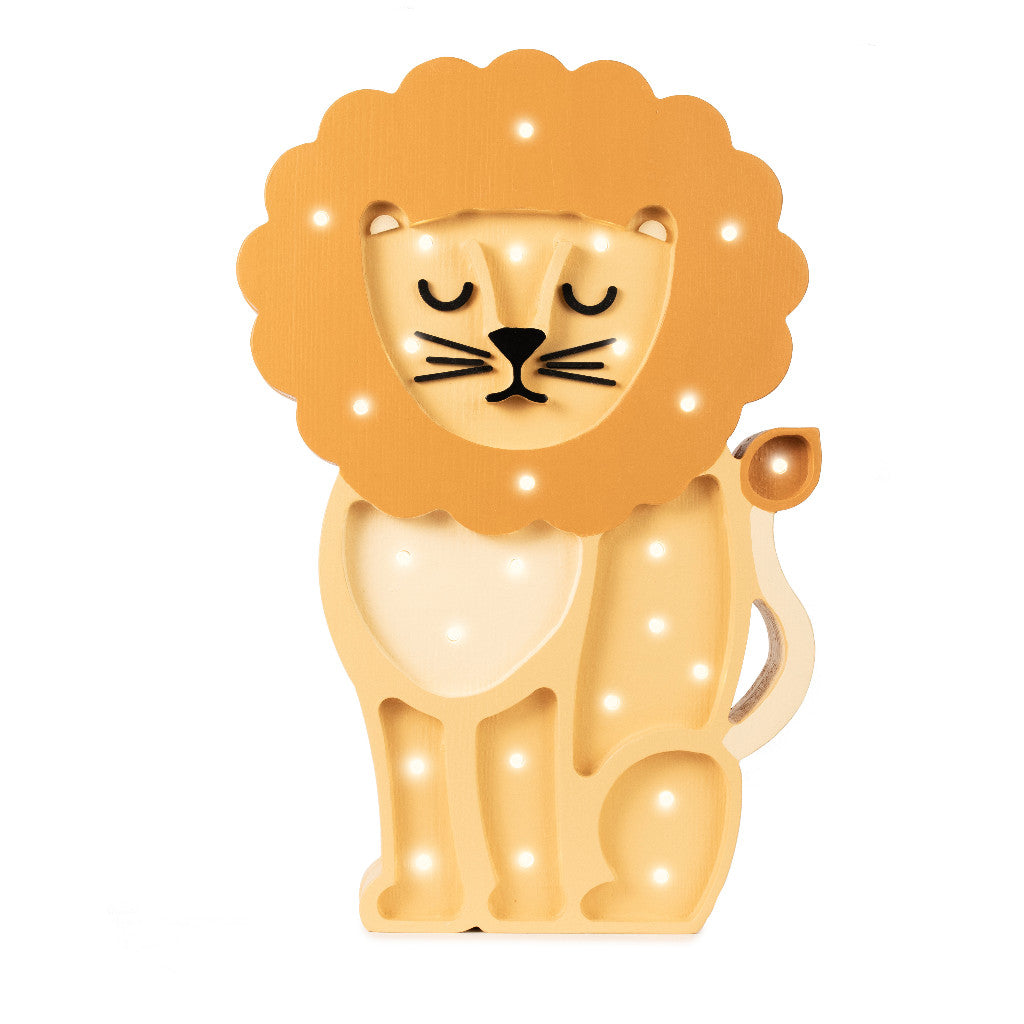 Little Lights Lion Lamp - Little Lights US