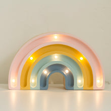 Load image into Gallery viewer, Little Lights Mini Rainbow Lamp with Glitter - Little Lights US