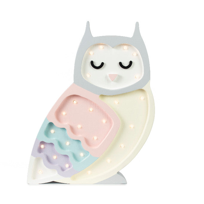 Little Lights Owl Lamp - Little Lights US