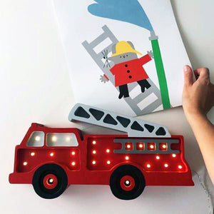 Little Lights Fire Truck Lamp