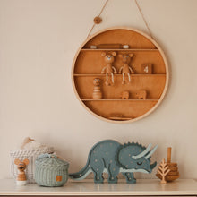 Load image into Gallery viewer, Little Lights Triceratops Dinosaur Lamp