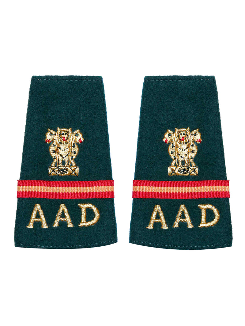 Epaulette Subedar Major Army Air Defence