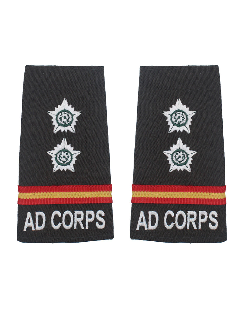 Epaulette Subedar The Army Dental Corps