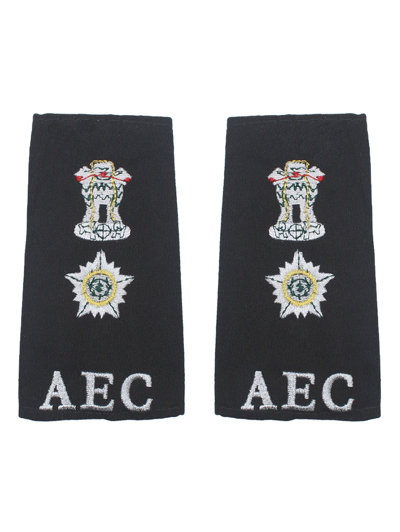 Epaulette Lieutenant Colonel Army Education Corps