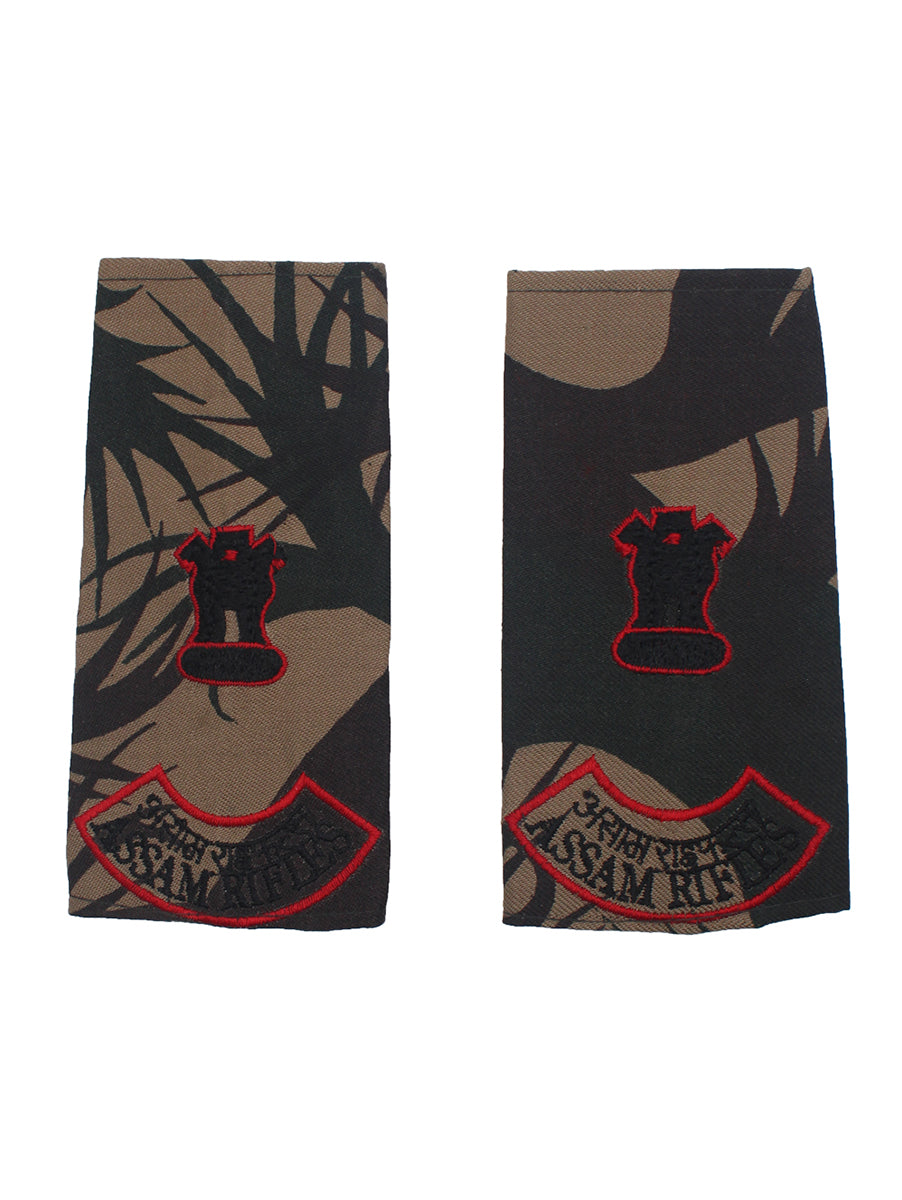 Epaulette Major Assam Rifles