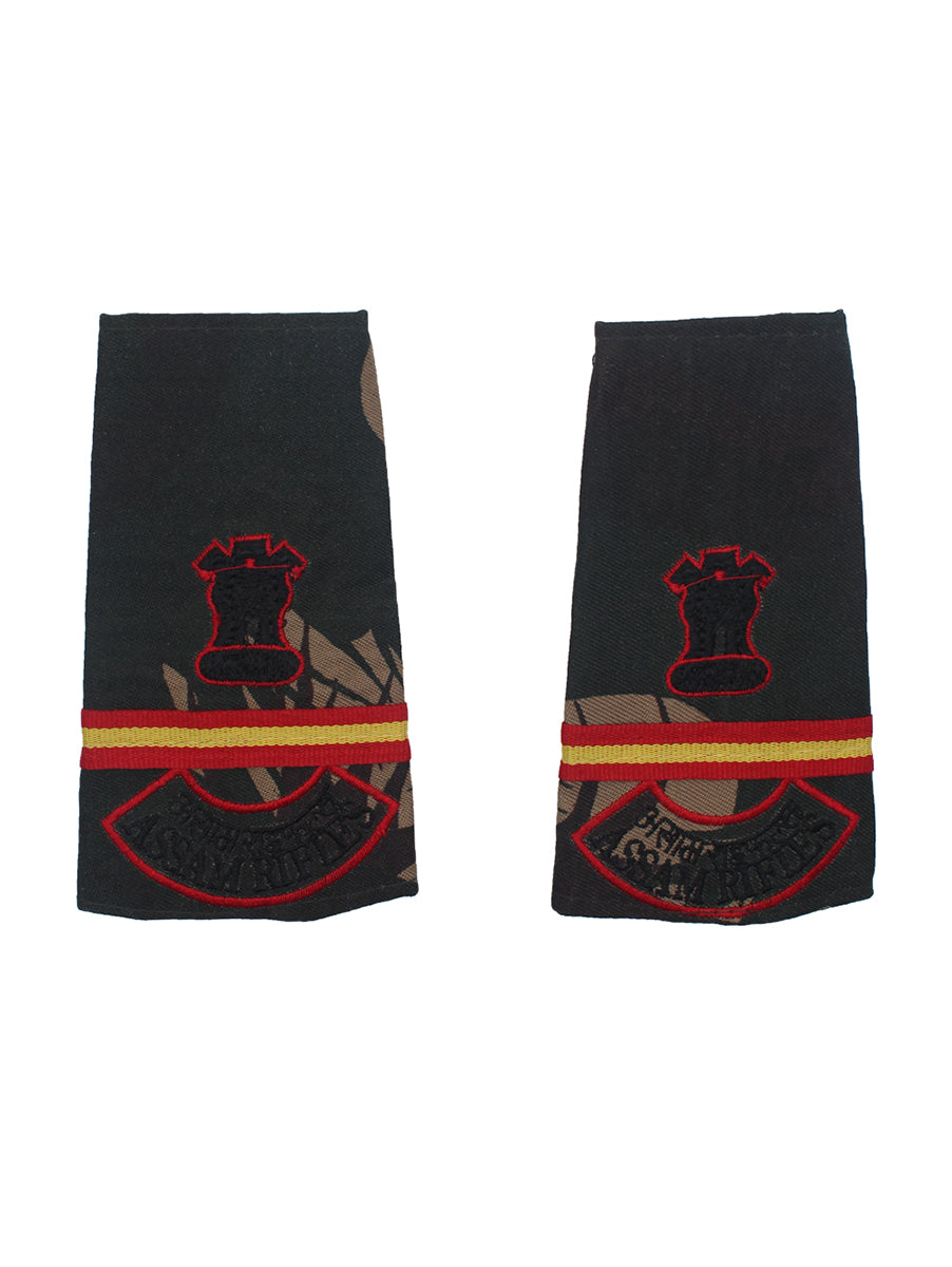 Epaulette Subedar Major Assam Rifles