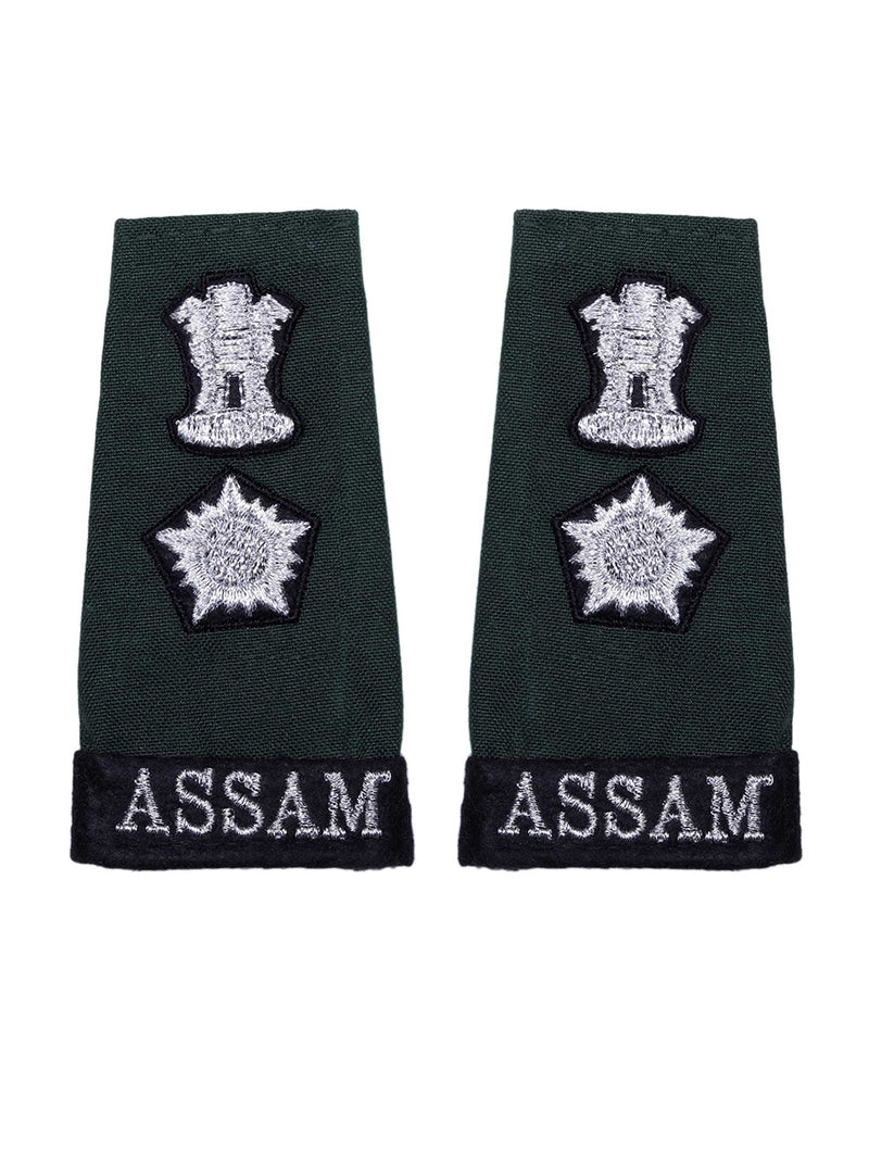 Epaulette Lieutenant Colonel Assam Regiment