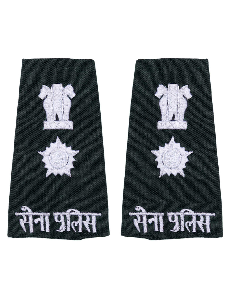 Epaulette Lieutenant Colonel Center Military Police Hindi