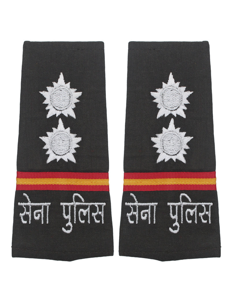 Epaulette Subedar Center Military Police Hindi