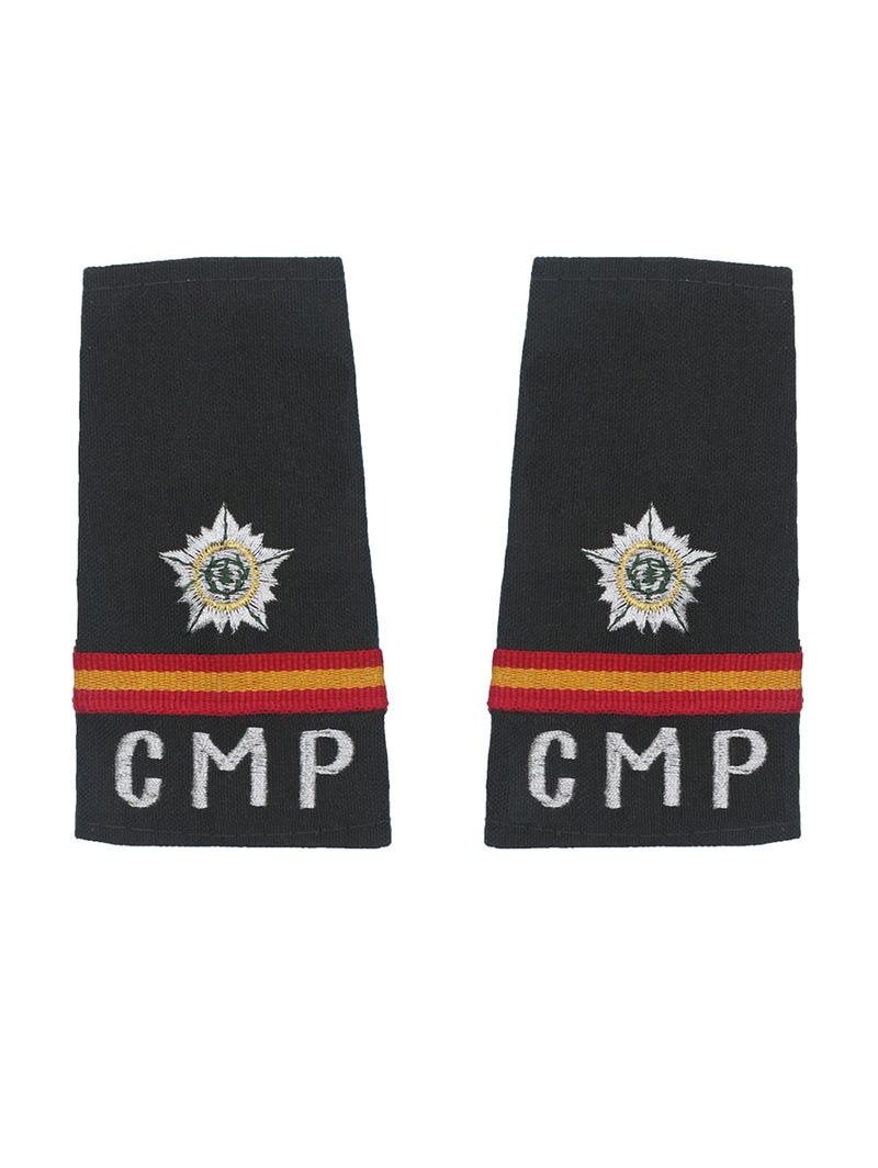 Epaulette Naib Subedar Center Military Police