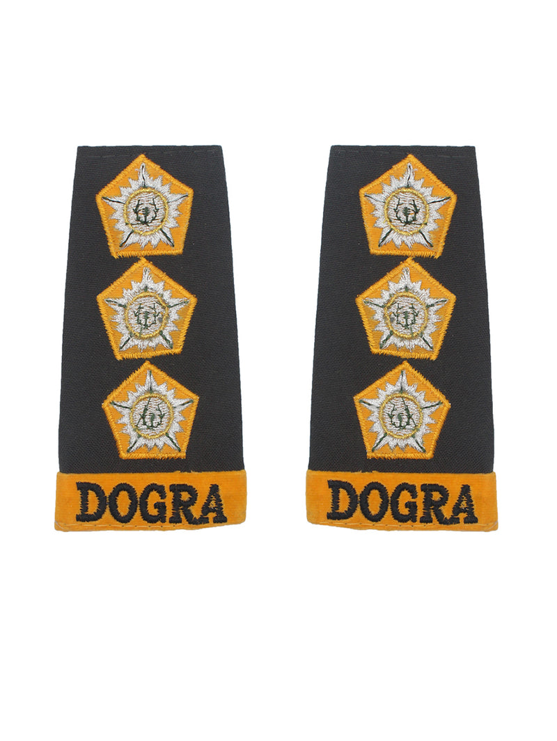 Epaulette Captain Dogra Regiment